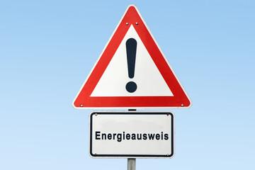 Schild 327 - Energieausweis