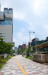 日本 愛知 名古屋駅前の道 Japan Aichi Nagoya Station front road