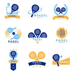 logo padel paddle tennis