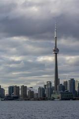 View at Toronto cityscape