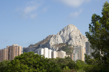 Ifach mountain