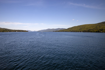 The amazing waters of Lake George