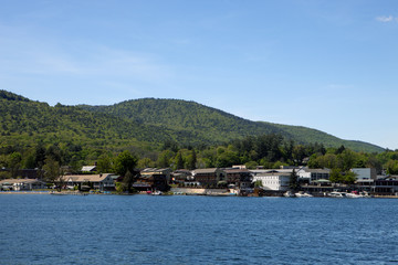 The town of Lake George