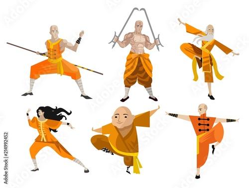 tai chi chuan shaolin training stances