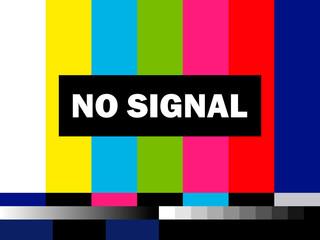 TV no signal background illustration. Vector illustration eps10 graphic