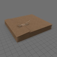 Stack of tied envelopes