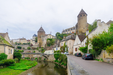 Medieval fortifications of Semur-en-Auxois