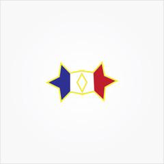Deux étoiles
