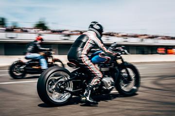 Café racer motorcycle