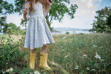 Hunter Boots Flower Girl