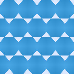Blue seamless pattern for printing on fabric. Simple geometric background. Minimal design, traditional tile style.
