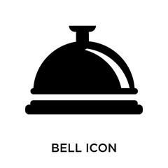 bell icon isolated on white background. Modern and editable bell icon. Simple icons vector illustration.
