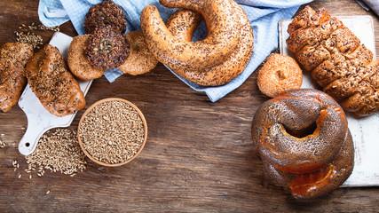Fresh wholegrain mixed bread
