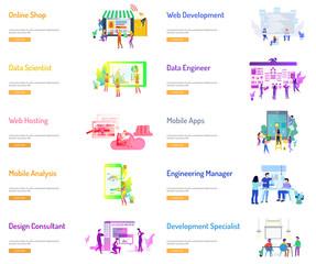 Business People Banner Design