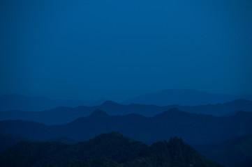 高知の山々