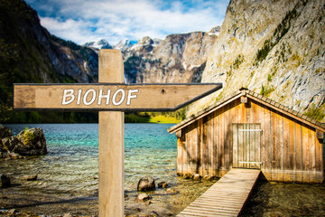 Schild 300 - Biohof