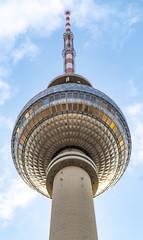 Berlin tv tower in Alexanderplatz