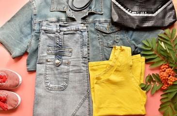 women's jeans clothes