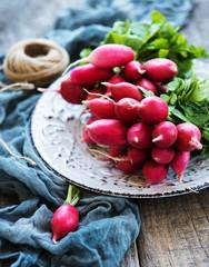 Bunch of radish