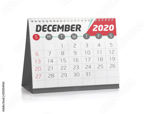 Office Calendar December 2020 Stock Photo And Royalty Free Images