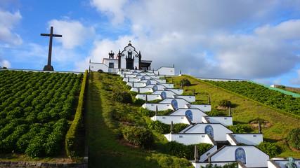 Kirche Nossa Senhora da Paz auf der Insel Sao Miguel, Azoren