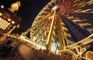 Bergkirchweih parish fair, one of Germany's biggest folk festivals, Erlangen, Bavaria, Germany, Europe