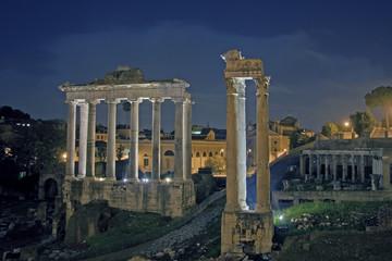 Tempio di Saturno, Rome, Italy, Europe
