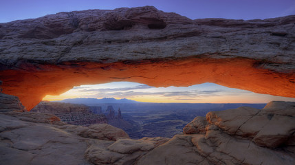 Sunrise, Canyonlands National Park, Utah, America
