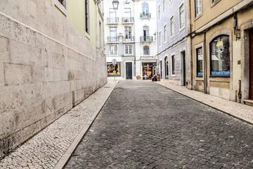 Rua em Lisboa