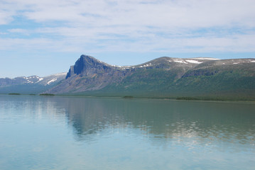 Gate to Sarek - Lake Laitaure and Skierfe