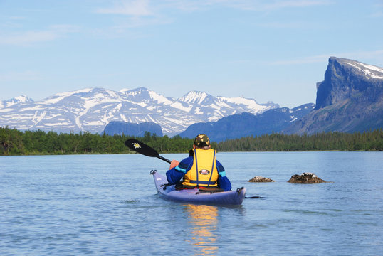 Sarek National Park - Mount Tjakkeli