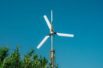 small windmill in movement