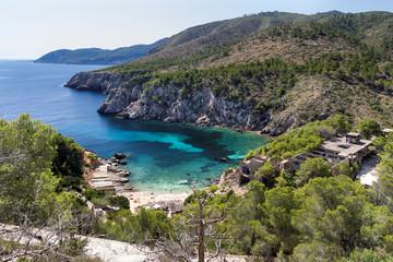 Hotel Ruine an der Cala d'en Serra auf Ibiza