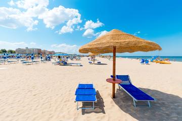 Fototapete - Beach with clean white sand