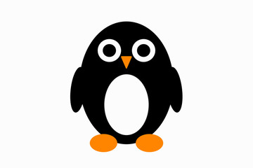 cute little penguin illustration
