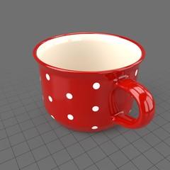 Small round mug