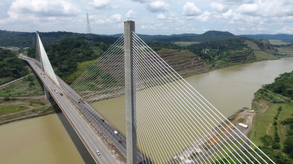 Centennial Bridge across the Panama Canal