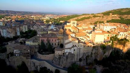 Casas en Cuenca. España. Ciudad Patrimonio de la Humanidad