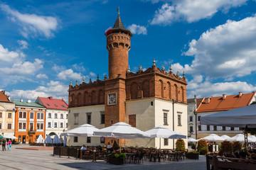 Tarnów - Rathaus und Marktplatz