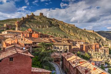 City walls, Albarracin, Aragon, Spain