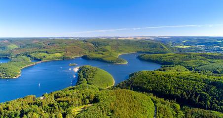 Lake Rursee, Eifel Germany