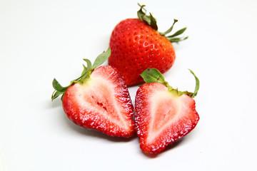Strawberry fruit food close up