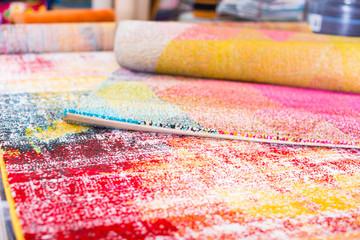 diversity of colour carpets