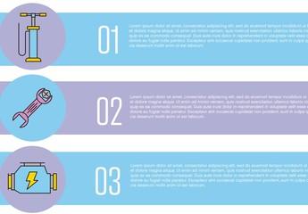 Car Maintenance Infographic Layout