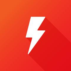 Flash icon. Bolt of lightning. Lightning illustration. Streak of lightning sign. Electric bolt flash icon. Thunder strike logo. Charge flash icon. Thunderbolt icon