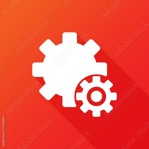 Cog icon gears
