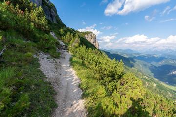 Kaiserbachtal Weg zum Stripsenjochhaus