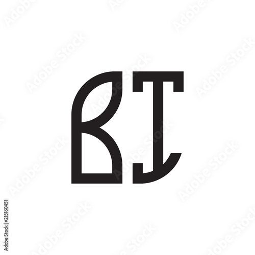 two letter monogram logo