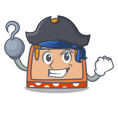 Pirate hand bag character cartoon