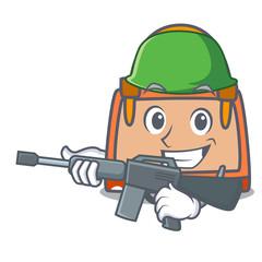 Army hand bag character cartoon